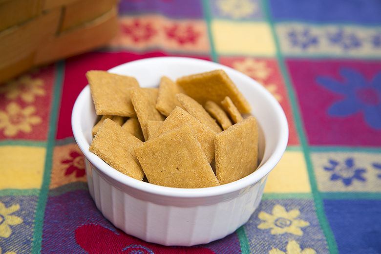 Dairy Free Cheese Crackers