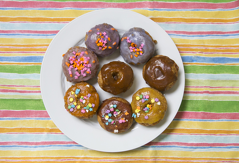 Top 8 Free, Yeast Free Donuts